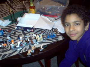 Steps to a building a lego creation