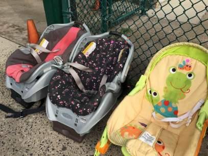 Bargain prices on baby equipment! {Photo credit (c) Kim M. Bennett, 2016}