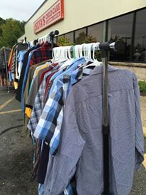 Clothing from $1-$15 - what prices! {Photo credit (c) Kim M. Bennett, 2016}